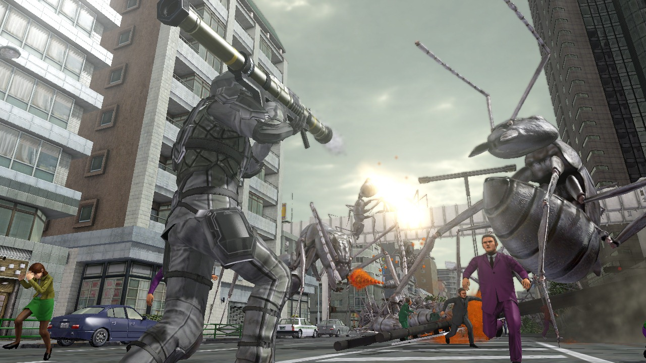 Earth Defense Force 4 gives us a new look at Giant Spiders!