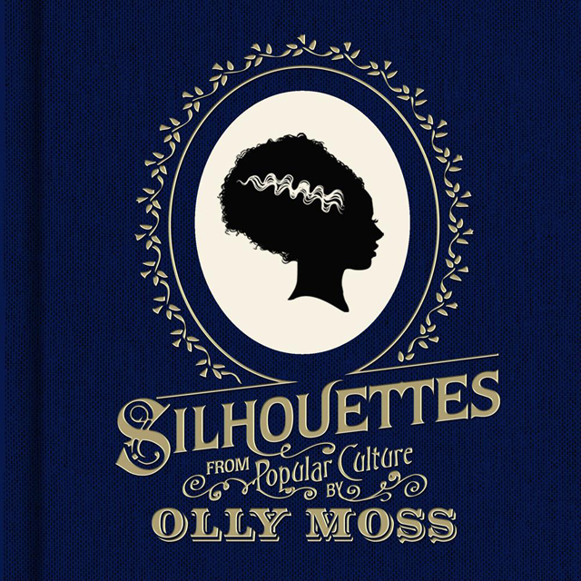 Silhouettes from Popular Culture by Olly Moss, a book review by CynicNerd