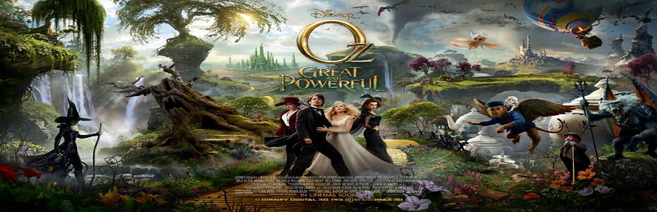 Oz The Great and Powerful featurette is Witch-tastic