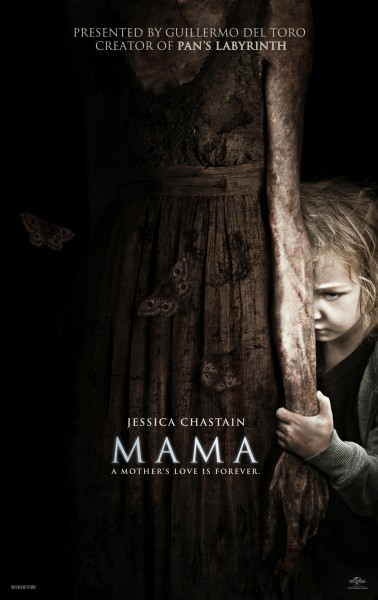 Mama- FOUR new terrifying clips with Jessica Chastain