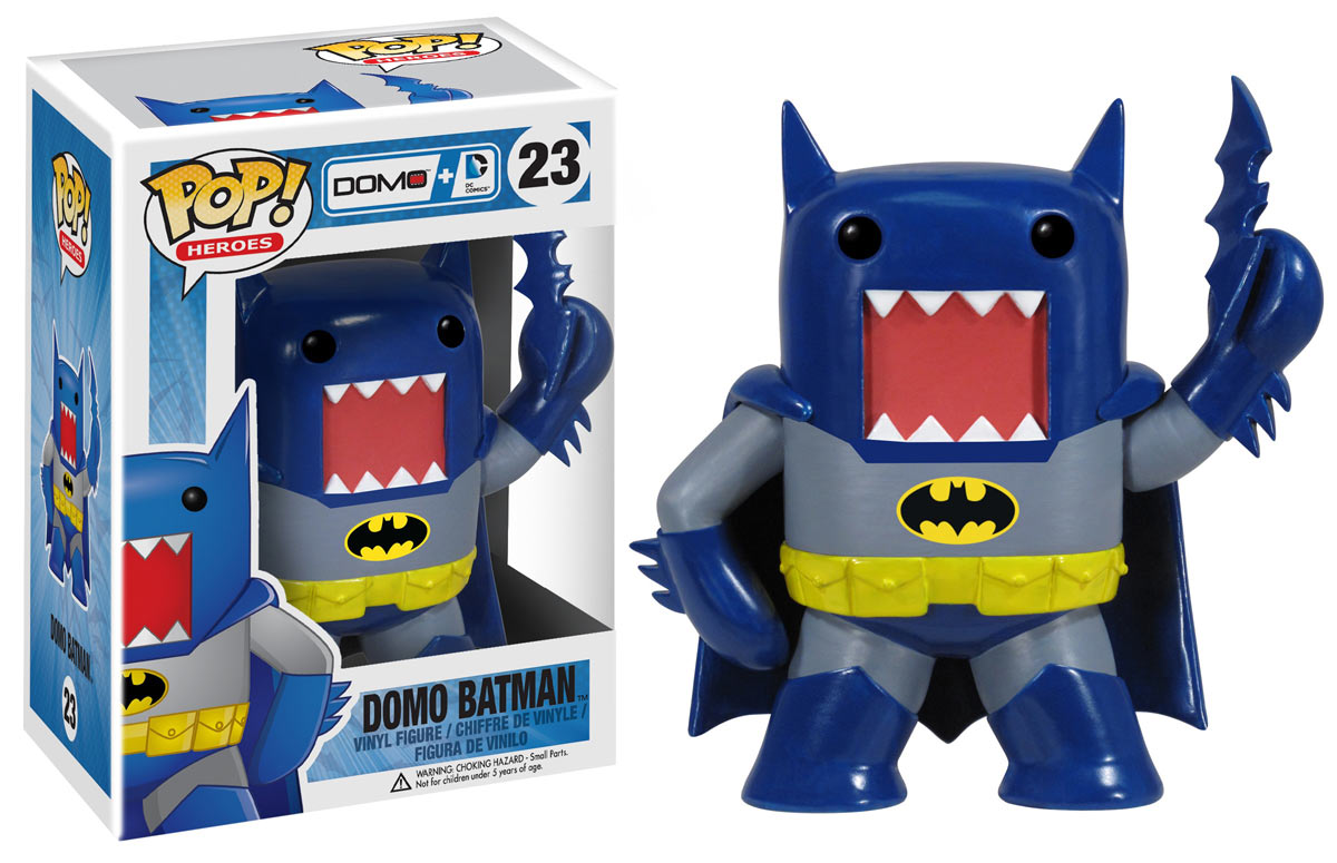 DC Comics and POP! Funko present: DC Comics DOMO X Figurines