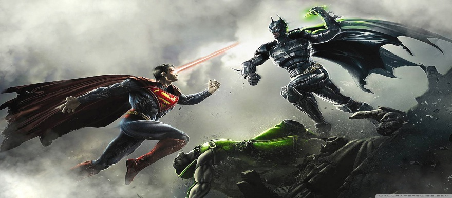 Injustice Gods Among Us from DC Comics WB Games and NetherRealm hits stores tomorrow!