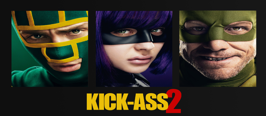 Kick-Ass 2: new viral marketing ads feature The M*thaF*%#ker and Justice Forever