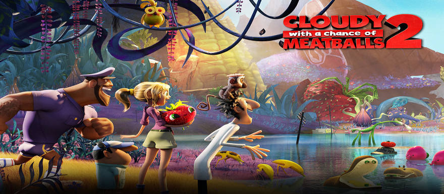 Cloudy With a Chance of Meatballs 2- New Official Trailer is Foodimal-tastic!