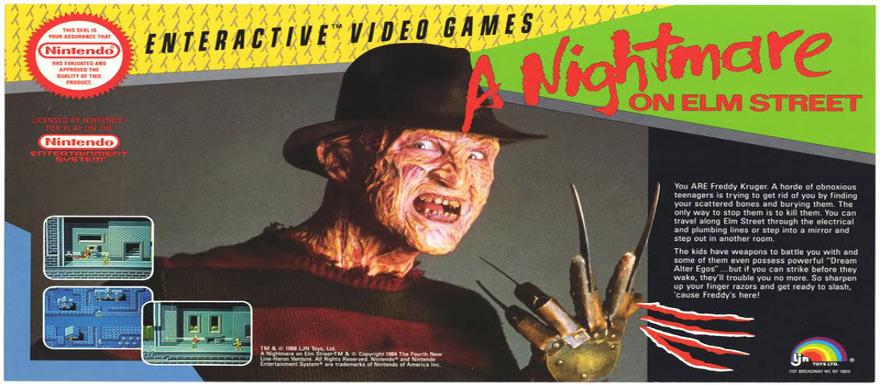 A Nightmare on Elm Street- NECA unleashes the 8-Bit Nintendo Freddy toy!