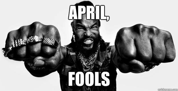 Towelite Talk Presents April Fools, FOOL!