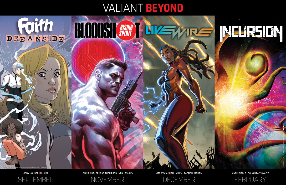 Valiant Reveals an Invigorating Lineup of New Series for 2018 and Beyond!
